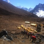 Lobuche Base Camp training. (Phunuru Sherpa)