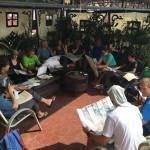 Rooftop meeting (Ang Jangbu Sherpa)