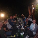 Welcome/Celebration dinner (Cedric Gamble)