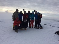 Ecuador Team on summit of Cayambe (Luke Reilly)