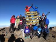 Christmas 2015 Kili Summit Team