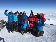 Vinson Team on the summit