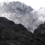 First views of Carstensz from near New Zealand Pass