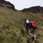 Hiking on Fuya Fuya, Ecuador