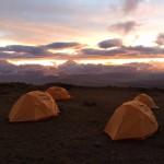 Base camp on Antisanaa