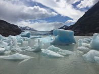 Icebergs on Lago Grey