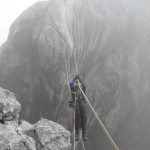 The Tyrolean Traverse on Carstensz