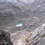 Looking down on BC from base of the Carstensz route