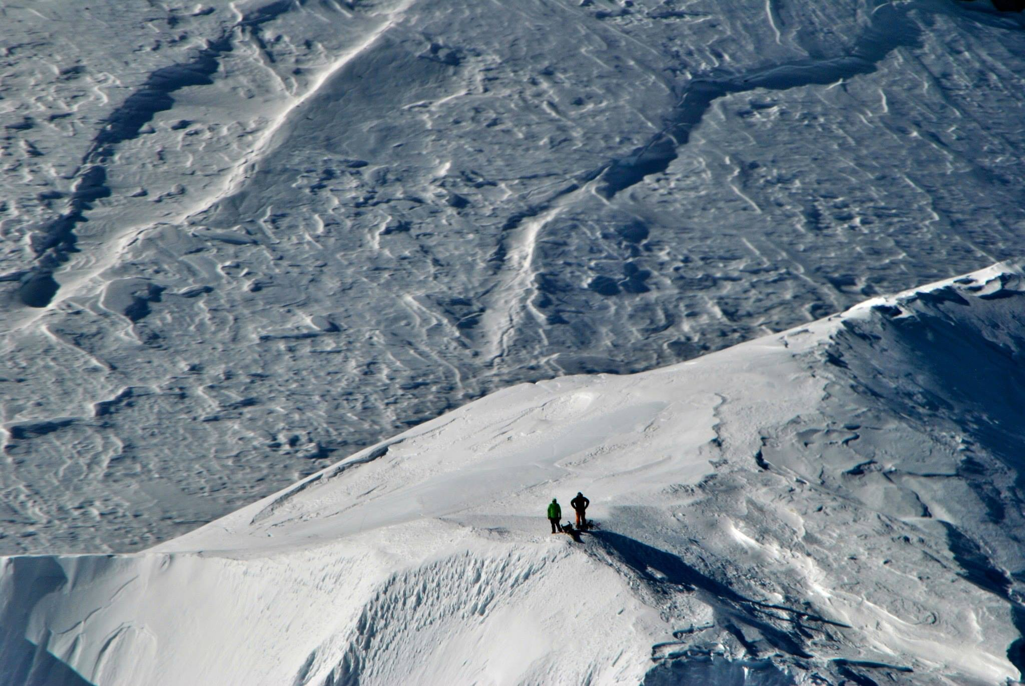 IMG Guides Mike Haft and Peter Dale On the summit of Denali