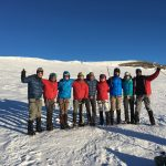 The team on the summit (Dustin Balderach)
