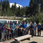 The DC Team before heading to Camp Muir.