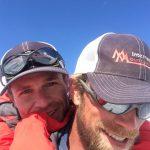 IMG Luke Reilly enjoying a Merle-back-ride.