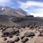 Kilimanjaro above Barranco Wall (Photo: Dustin Balderach)