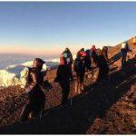 Working towards Uhuru Peak (photo: Dustin Balderach)