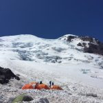 The view of the mountain from Camp Schurman (Angie Diana).