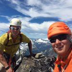 Selfie on top of Mt. Degenhardt