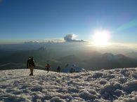 Climbing Huayna Potosi (Greg Vernovage)
