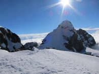 Pequeno Alpamayo from first summit (Greg Vernovage)