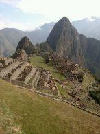 Approaching Machu Picchu from the Sun Gate.