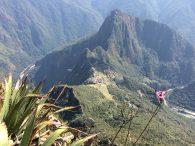 Machu Picchu Complex from Montaña Machu picchu