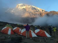 Kili from Barranco Camp (Photo: Phunuru Sherpa)