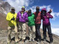 Literally on top of Lava Tower (Phunuru Sherpa)