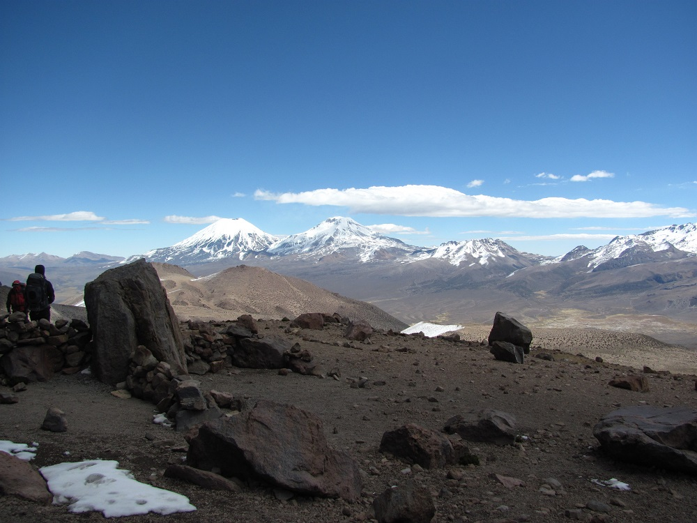 Parinacota and Pomerape (Photo: Greg Vernovage)