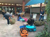 Ready for the flights home (Phunuru Sherpa)