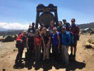 Team at Shira Camp (Phunuru Sherpa)