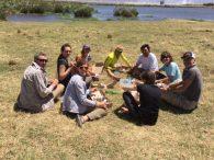 Team lunch in Ngorongoro Crater (Phunuru Sherpa)