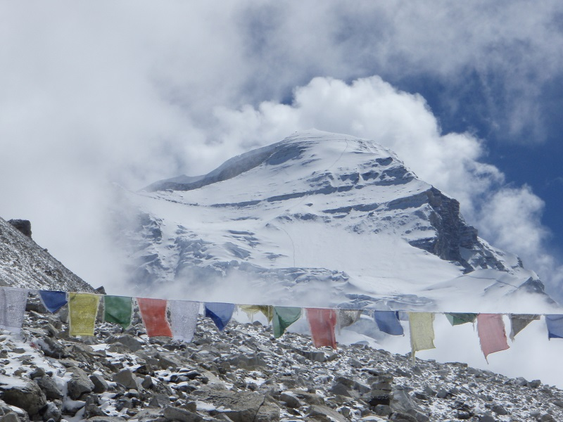 Cho Oyu from ABC: The Route Can Be Seen Up High (Greg Vernovage)