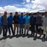 Cho Oyu sherpa team on the way to Tingri (Phunuru)