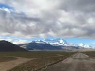 The road to Cho Oyu Base Camp (Ang Jangbu)