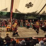 Tibetan opera at Shoton Festival in Norbulingka Palace (Ang Jangbu)