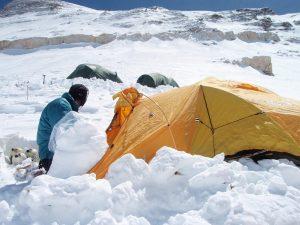 Camp 3 on Cho Oyu (Greg Vernovage)