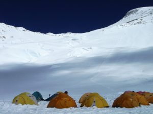Camp 2 on Cho Oyu (Greg Vernovage)