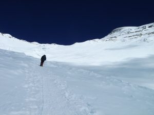 Route up to Camp 3 on Cho Oyu (Greg Vernovage)