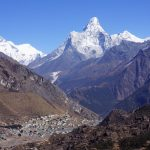 Khumjung with Everest and Ama Dablam (Phu Tashi)