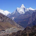 Khumjung with Everest and Ama Dablam (Phu Tashi)