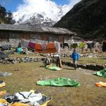 View from Khote to Mera Peak  (Eric Simonson)