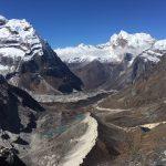 View Down Valley from Mera La (Phunuru)