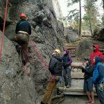 Rock Rescue Training at Fun Rock (Photo: George Dunn)