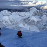 Climbing on Summit Day  (Phunuru)