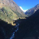 Heli flight into Khote (Photo: Phunuru)