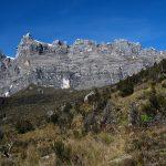First Glimpse of Carstensz Pyramid (Jason Edwards)