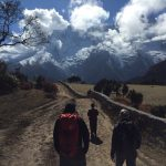 Trekking in Khumjung (Tye Chapman)
