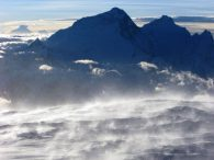 View of Everest and Lhotse from Cho Oyu Summit (Greg Vernovage)