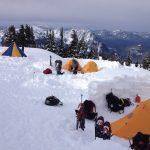 A Denali Style Camp on Mount Rainier
