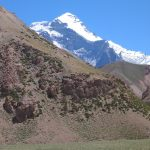 Great view of Aconcagua from Casa Piedra