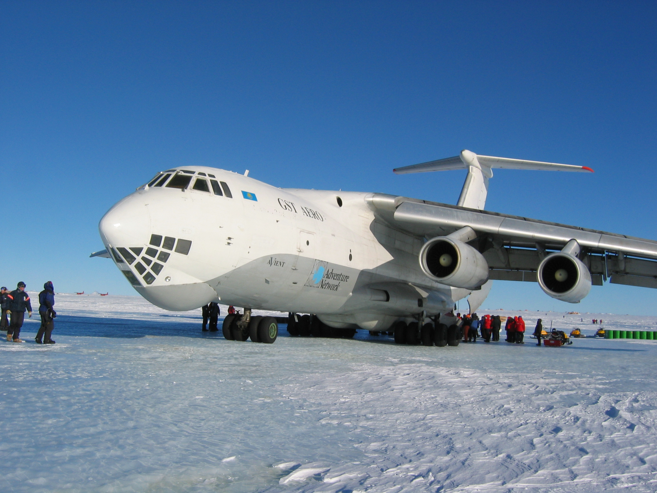 On the IL 76 soon